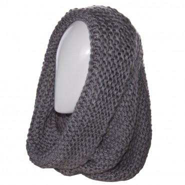 Sofi: Шарф-хомут H15010 светло-серый - главное фото