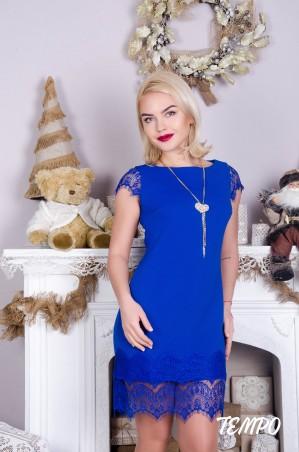 Tempo: Платье Шери электрик - главное фото