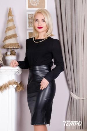 Tempo: Блуза София черный - главное фото
