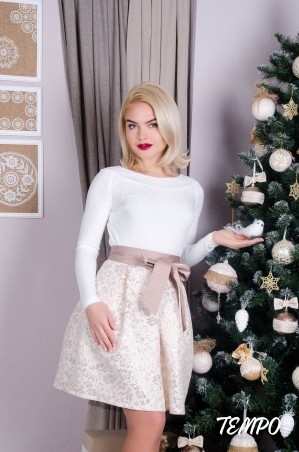 Tempo: Платье Марсела Gold - главное фото