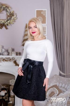 Tempo: Платье Марсела чб - главное фото