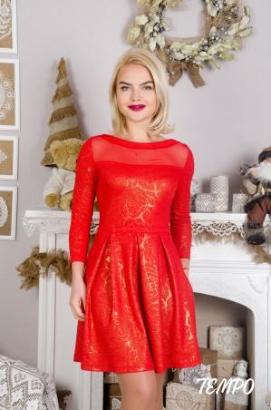 Tempo: Платье Клер Gold - главное фото