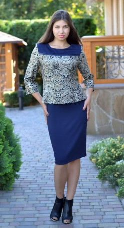 Modis: Платье 895 06 /50-56/ - главное фото