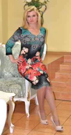 Modis: Платье 843 25 /50-56/ - главное фото