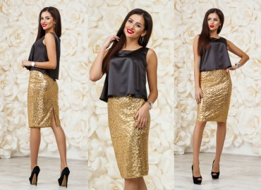 Look At Fashion: Костюм(юбка+топ) 68151 - главное фото