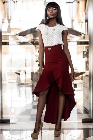 Jadone Fashion: Юбка Юлли М-2 - главное фото