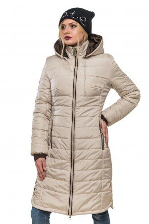 Кариант: Куртка зимняя Эльза жемчуг - главное фото