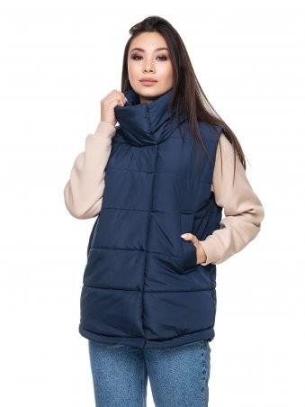 Кариант: Куртка зимняя Миледи синий - главное фото