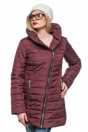Кариант: Куртка зимняя Миледи слива - главное фото