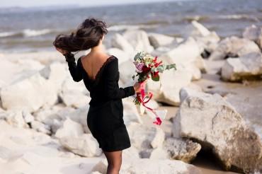 Champagne Sparkles: Платье Ангора с открытой спиной 16501 - главное фото