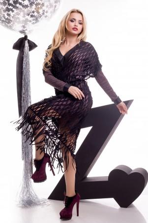 Zuhvala: Комплект(платье+накидка) Тина - главное фото