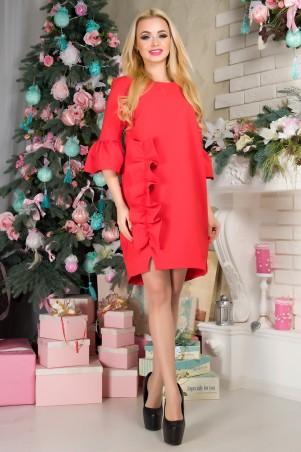 First Land Fashion: Платье Варьете красный - главное фото