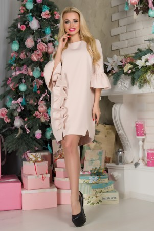 First Land Fashion: Платье Варьете беж - главное фото