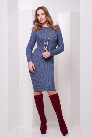 MarSe: Вязаное Платье 135 светлый джинс - главное фото