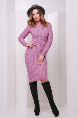 MarSe: Вязаное Платье 135 сирень - главное фото