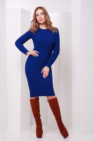 MarSe: Вязаное Платье 135 электрик - главное фото