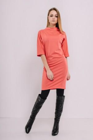 Ляпота: Коралловое платье 3003-2 - главное фото