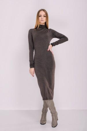 Ляпота: Платье-гольф миди 3018 - главное фото