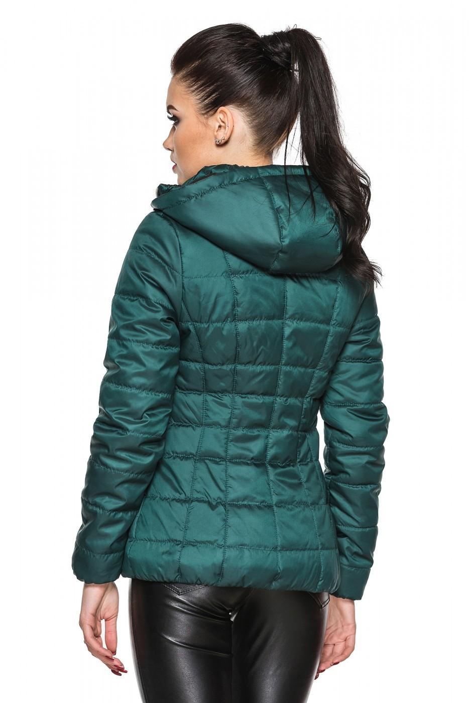 a1fbc640af6 Куртка деми Лика бутылочный цвета от