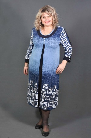 BigFashionStyle. Платье Омбрэ. Артикул: 264О1