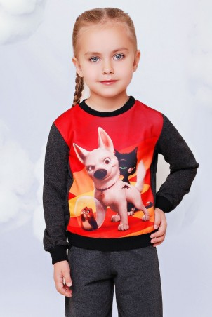 "FashionUp Kids. Свитшот ""Kids"". Артикул: KF-075"