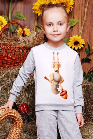 "FashionUp Kids. Свитшот ""Kids"". Артикул: KF-101"