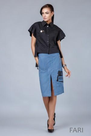 Angel PROVOCATION: Комплект (рубашка+юбка) Fari - главное фото