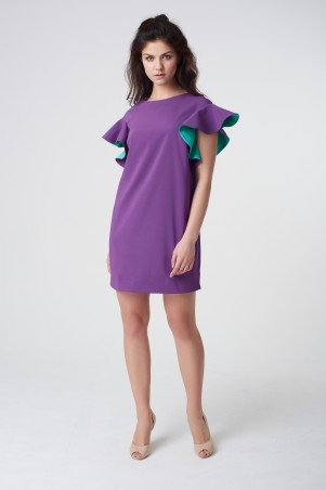 RicaMare. Нарядное короткое платье. Артикул: RM1643