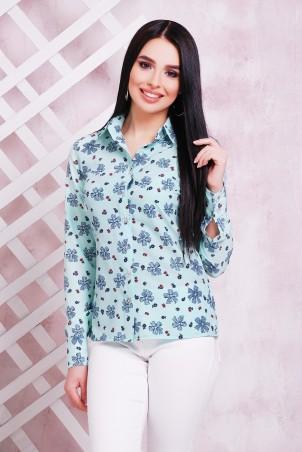 MarSe: Блуза 1708 мята - главное фото