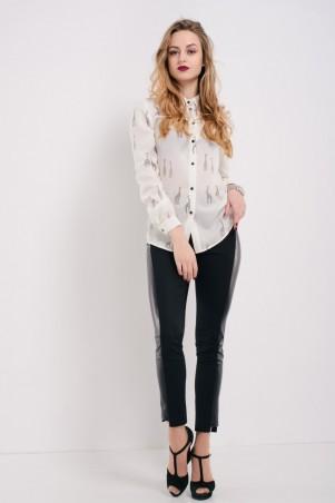 "Ляпота. Блузка-рубашка ""Жираф"". Артикул: 1057"