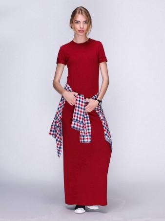 Loca. Платье. Артикул: Платье DW22_бордо_Loca