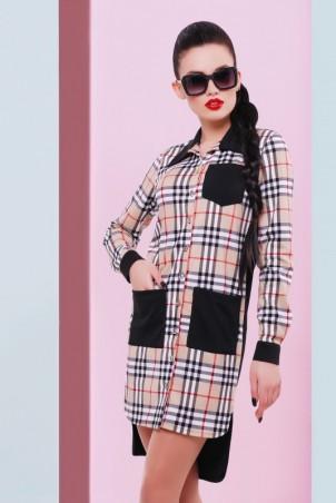 "FashionUp. Платье-рубашка ""Barbara"". Артикул: PL-1448A"