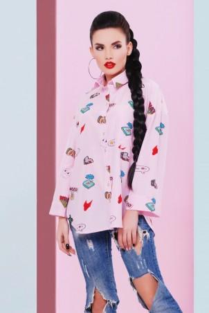 "FashionUp. Рубашка ""Cool"". Артикул: RB-1466B"