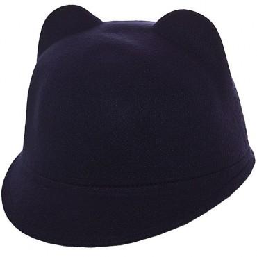 Cherya Group. Шляпа фетровая детская. Артикул: FD16005 тёмно-синий