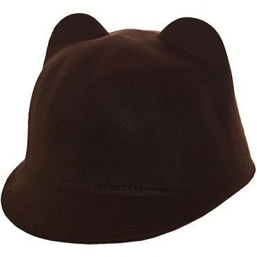 Cherya Group. Шляпа фетровая детская. Артикул: FD16005 тёмно-коричневый