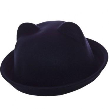Cherya Group. Шляпа фетровая детская. Артикул: FD16001 чёрный