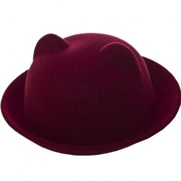 Cherya Group. Шляпа фетровая детская. Артикул: FD16001 бордовый