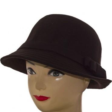 Cherya Group. Шляпа фетровая. Артикул: F16009 чёрный