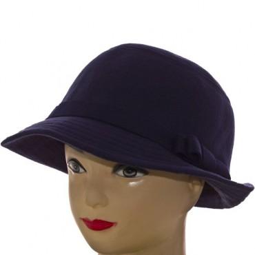 Cherya Group. Шляпа фетровая. Артикул: F16009 тёмно-синий