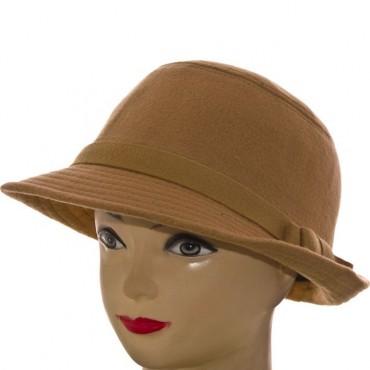 Cherya Group. Шляпа фетровая. Артикул: F16009 бежевый