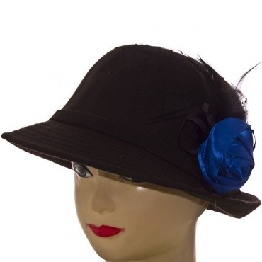 Cherya Group. Шляпа фетровая. Артикул: F16008 чёрный