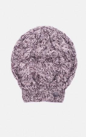 MR520 Women. Вязаная шапка косами. Артикул: MR 226 2016 0815 Beige