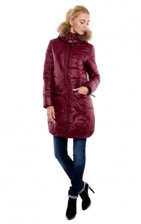 MR520 Women. Демисезонное пальто. Артикул: MR 202 20002 0314 Wine