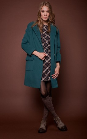 MR520 Women. Шерстяное пальто oversize (оверсайз). Артикул: MR 220 2276 0816 Green