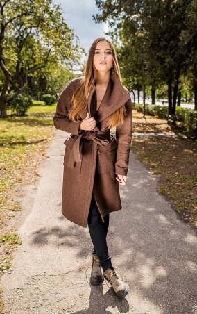 MR520: Шерстяное пальто oversize (оверсайз) MR 220 2232 0916 Russet - главное фото