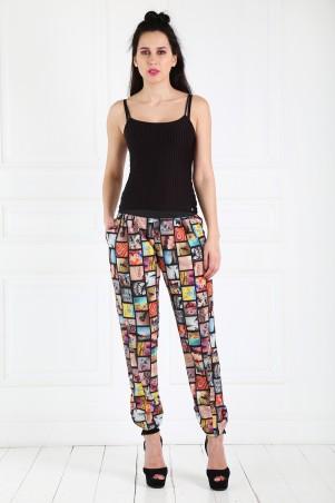 Caramella. Летние женские брюки-1. Артикул: CR-10147-3