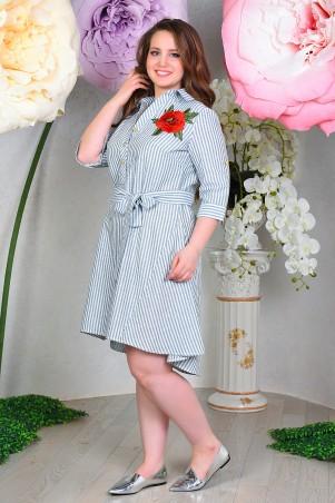 VOKARI. Платье-рубашка. Артикул: 1584(plus size)