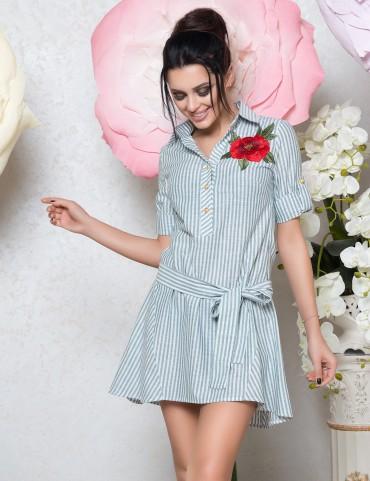 VOKARI. Платье-рубашка. Артикул: 1584