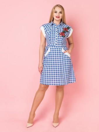 VOKARI. Платье. Артикул: 1588 (plus size)