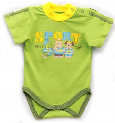Valeri-Tex. Бодик-футболка для мальчика. Артикул: 1861-55-232-022-1